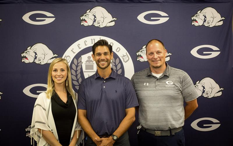 Welcome Chad and Samantha Mercado to Greenwood