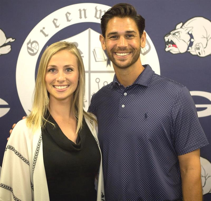 Coach's wife reflects on new job in Greenwood
