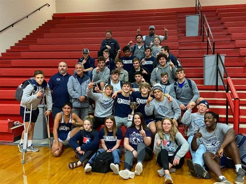 Wrestling Team at Searcy Dual